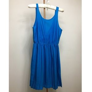 Forever 21 - Blue Pleated Slip Dress